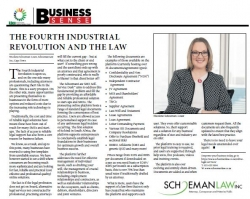 Nicolene Schoeman-Louw - The Fourth Industrial Revolution and The Law