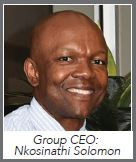 SLG - Group CEO: Mr Nkosinathi Solomon