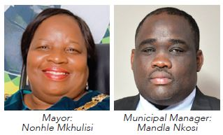 King Cetshwayo District Municipality Mayor: Nonhle Mkhulisi and Municipal Manager: Mandla Nkosi