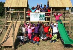 NCT Forestry:Caring for Communities:Kids at Ndolothi crèche, Kranskop