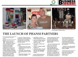 Paul Mikula - The Launch Of Phansi Partners