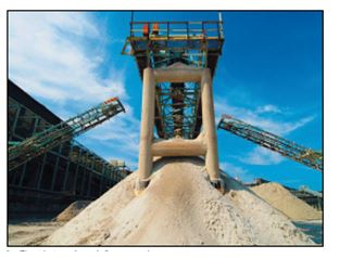Phosphate rock ready for processing