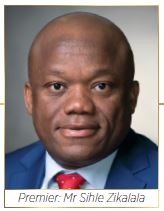 Premier Mr Sihle Zikalala