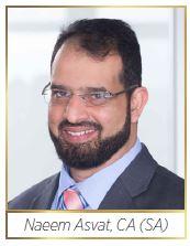 SAICA Regional Executive-Eastern Region: Naeem Asvat, CA(SA)