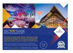 Durban ICC : World Travel Awards 2017 - Reminder to Vote for the Durban ICC