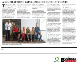 Royal Haskoning DHV - A South African experience for Dutch Students