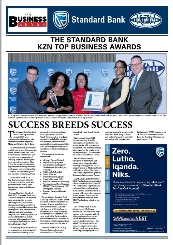 Standard Bank KZN Awards 2018