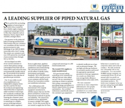 SLG - A Leading Supplier Of Piped Natural Gas