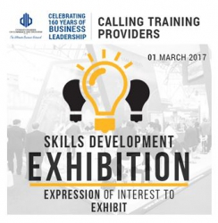 Durban Chamber - Skills Development Exhibition: Expression of Interest to Exhibit - 01 March 2017