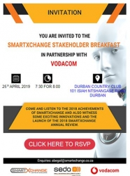 SmartXchange, Vodacom Stakeholder Breakfast 2019