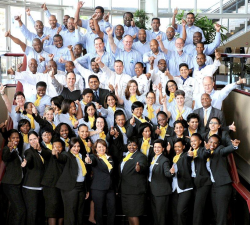 ICC Durban:Staff Photo celebrate 15 years of excellence.