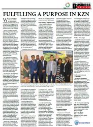 Standard Bank - Fulfilling A Purpose In KZN