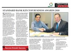 Standard Bank KZN Top Business Awards 2018