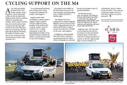 Stuart Singleton - Cycling Support On The M4