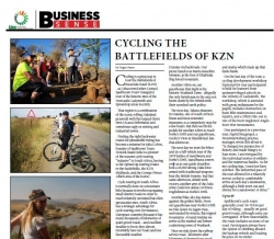 Teigue Payne - Cycling The Battlefields of KZN