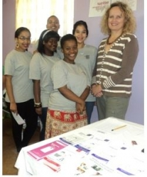 Durban University of Technology:Third-year Food and Nutrition Consumer Sciences students at the Kenneth Gardens Clinic