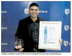 Tourism Award - The Winner Is Fairmont Zimbali Resort