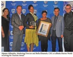 Standard Bank : Tourism : Winner - Ushaka Marine World