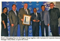 KZN Top Business Awards 2017 : Trade : Winner : Boxer Superstores