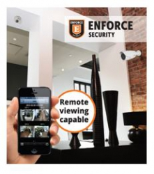 Enforce - Make the change to Enforce & qualify for a fully installed 4 channel CCTV