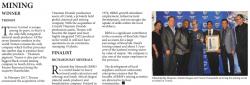 Standard Bank - Mining : Winner - Tronox