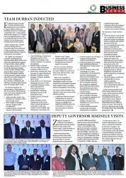 Zululand Chamber - Deputy Governor Mminele Visits