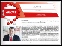 Acutts Brand DNA