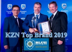 Blue Security KZN Top Brand 2019