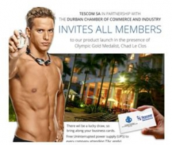 DBN Chamber and Tescom - Meet Chad Le Clos