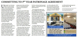 Ugu South Coast Tourism - Committing to 3rd year patronage agreement