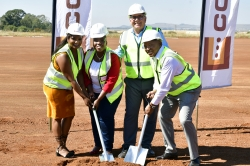 Corobrik celebrates progress at new R801 million brick factory at Driefontein