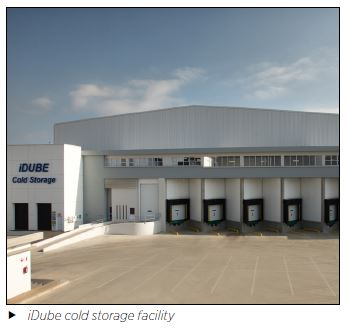 iDube cold storage facility