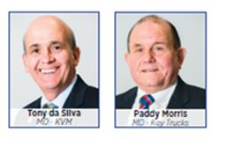 Key Vehicle Management:Managing Director: Tony da Silva and Key Trucks:Managing Director: Paddy Morris