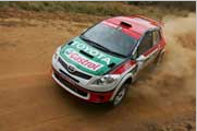 Toyota South Africa:Johnny Gemmell and Carolyn Swan 2nd and 5th in Rally South Africa